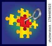 Success Concept.puzzle With...