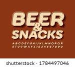 vector menu template beer  ... | Shutterstock .eps vector #1784497046
