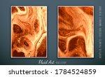 vector. fluid art. liquid...   Shutterstock .eps vector #1784524859
