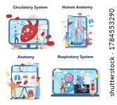 anatomy education online...   Shutterstock .eps vector #1784553290