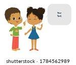 vector illustration of the cute ... | Shutterstock .eps vector #1784562989