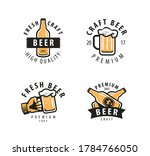 beer symbol or label. pub ... | Shutterstock .eps vector #1784766050