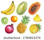 a set of insulation elements... | Shutterstock . vector #1784813270