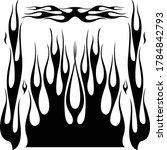 vector hot rod flame kit | Shutterstock .eps vector #1784842793