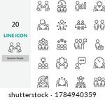set of people icons  work  team ... | Shutterstock .eps vector #1784940359
