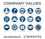 business company values flat... | Shutterstock .eps vector #1784944793