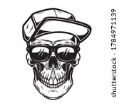 illustration of skull in...   Shutterstock .eps vector #1784971139