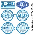 set of grunge rubber stamps... | Shutterstock .eps vector #178498580