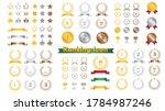 illustration set of ranking... | Shutterstock .eps vector #1784987246