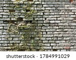 Old Brick Wall Texture. The...