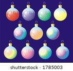 xmas ball | Shutterstock .eps vector #1785003