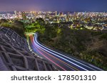 Kobe, Japan city skyline - stock photo