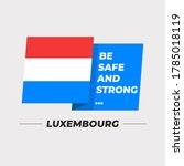 Flag Of Luxembourg   National...