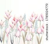 illustration with gentle vector ... | Shutterstock .eps vector #1785024770