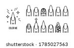 color me  fingernail artist... | Shutterstock .eps vector #1785027563