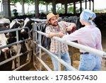 Young Positive Farm Family...