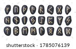 Set Of Ordered Celtic Or Anglo...