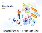 feedback and customer survey ... | Shutterstock .eps vector #1785085220
