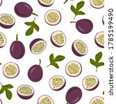 vector seamless pattern with... | Shutterstock .eps vector #1785199490