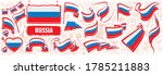vector set of the national flag ... | Shutterstock .eps vector #1785211883