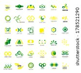 business icons set   isolated... | Shutterstock .eps vector #178521290
