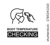 vector checking body...   Shutterstock .eps vector #1785241310