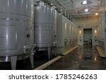 Metal Tanks For Wine...