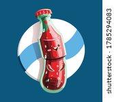 cola bottle character...   Shutterstock .eps vector #1785294083