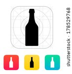 beer bottle icon. vector...