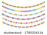 Colorful Paper Bunting Party...