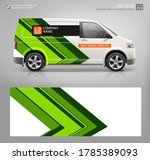realistic van mockup and wrap... | Shutterstock .eps vector #1785389093
