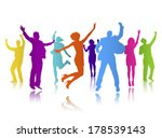 vector of colorful business... | Shutterstock .eps vector #178539143