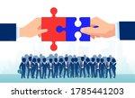bipartisan agreement between... | Shutterstock .eps vector #1785441203