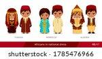 tunisia  morocco  algeria. men... | Shutterstock .eps vector #1785476966
