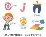 alphabet j | Shutterstock .eps vector #178547948