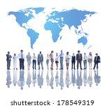 the global team development  | Shutterstock . vector #178549319