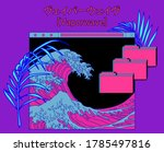 collage with user interface... | Shutterstock .eps vector #1785497816