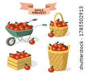 Set Of Containers For Apples....