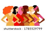 multi ethnic women. women...   Shutterstock .eps vector #1785529799