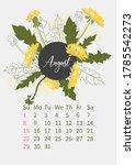 Flower Calendar 2021 With...