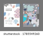 collection of creative... | Shutterstock .eps vector #1785549260