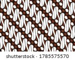 batik parang is one of the...   Shutterstock .eps vector #1785575570