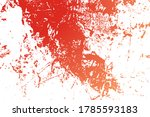 red aged grainy messy template. ...   Shutterstock .eps vector #1785593183