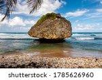 Mushroom Rock At Bathsheba...
