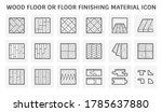 wood floor and material vector... | Shutterstock .eps vector #1785637880