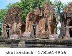 Ancient Khmer Castle At Prangk...