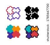 simple puzzle game icon design...