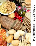 foods high in carbohydrate | Shutterstock . vector #178570130