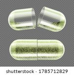 herb capsule  nutritional... | Shutterstock .eps vector #1785712829