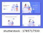 landing page vector... | Shutterstock .eps vector #1785717533